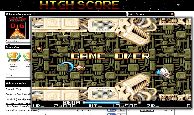 OriginalGamer: R-Type II (Amiga Emulated) 24,000 points on 2015-07-02 11:58:29