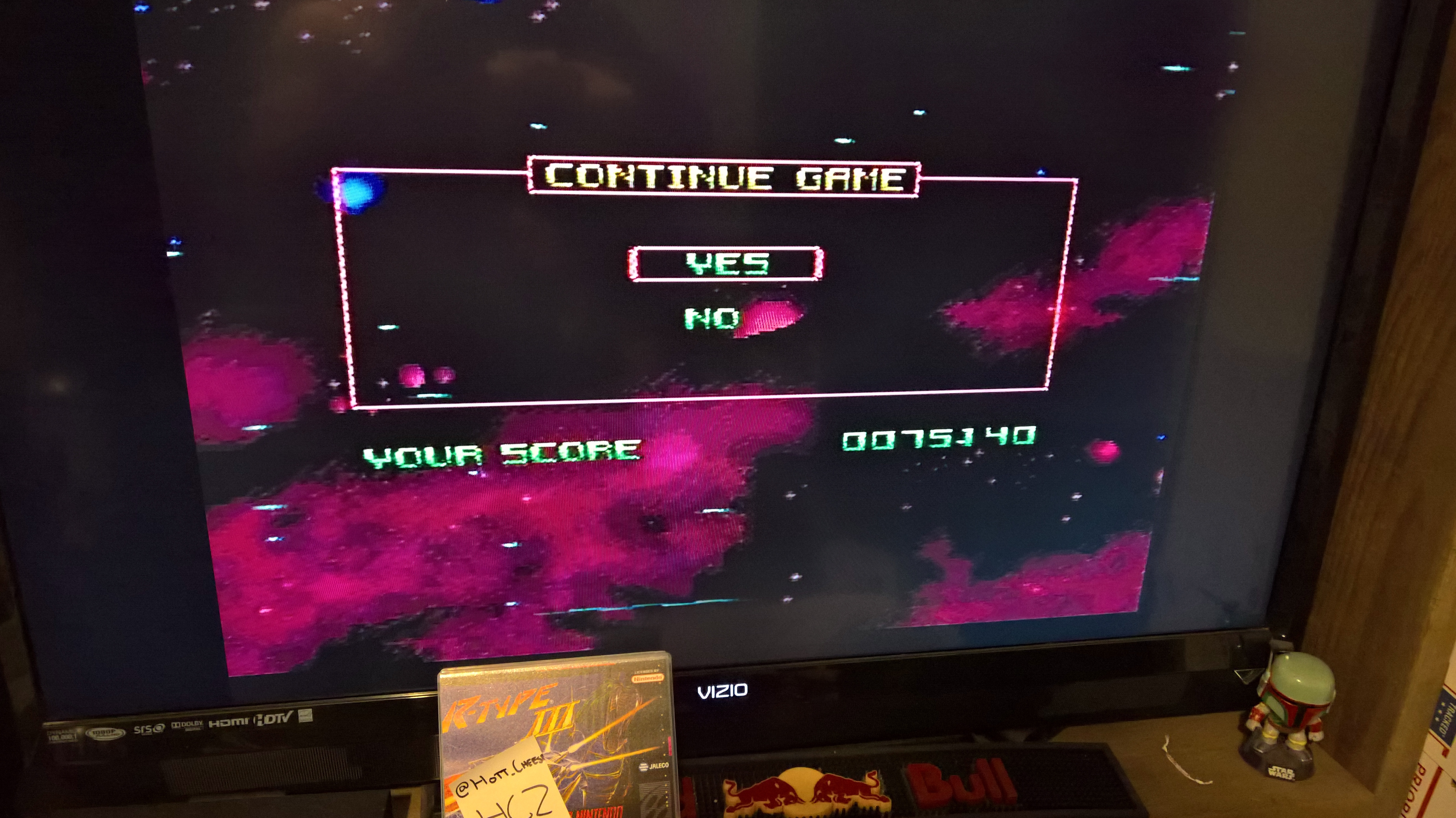 HottCheese: R-Type III (SNES/Super Famicom) 75,140 points on 2016-06-25 23:32:02