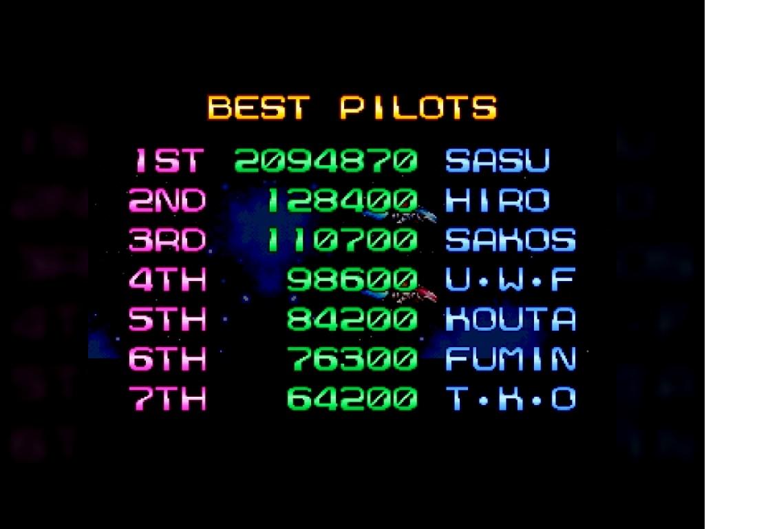 R-Type Leo [rtypeleo] 2,094,870 points