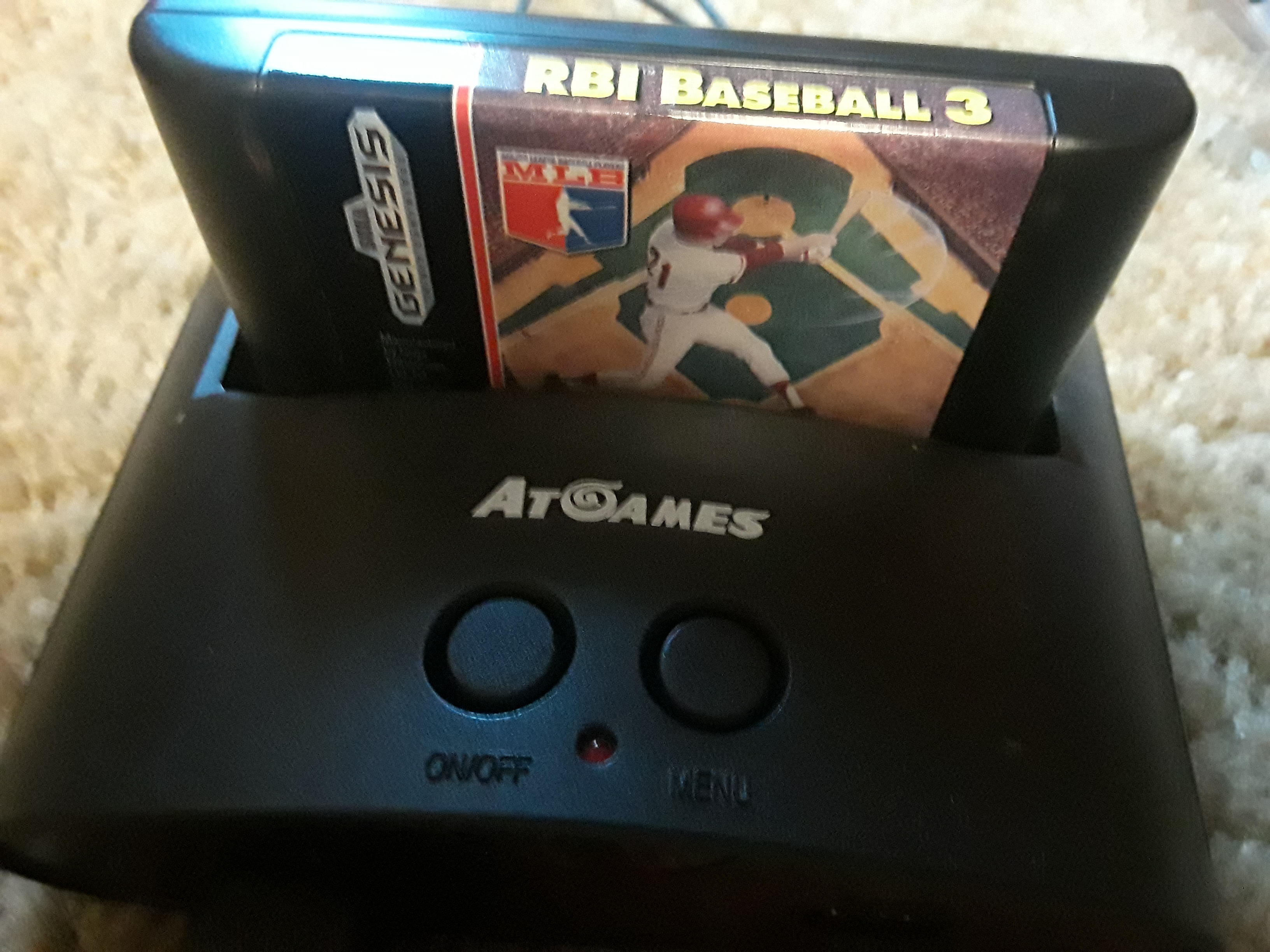 JML101582: RBI Baseball 3 [Point Difference] (Sega Genesis / MegaDrive Emulated) 4 points on 2018-07-19 20:02:19