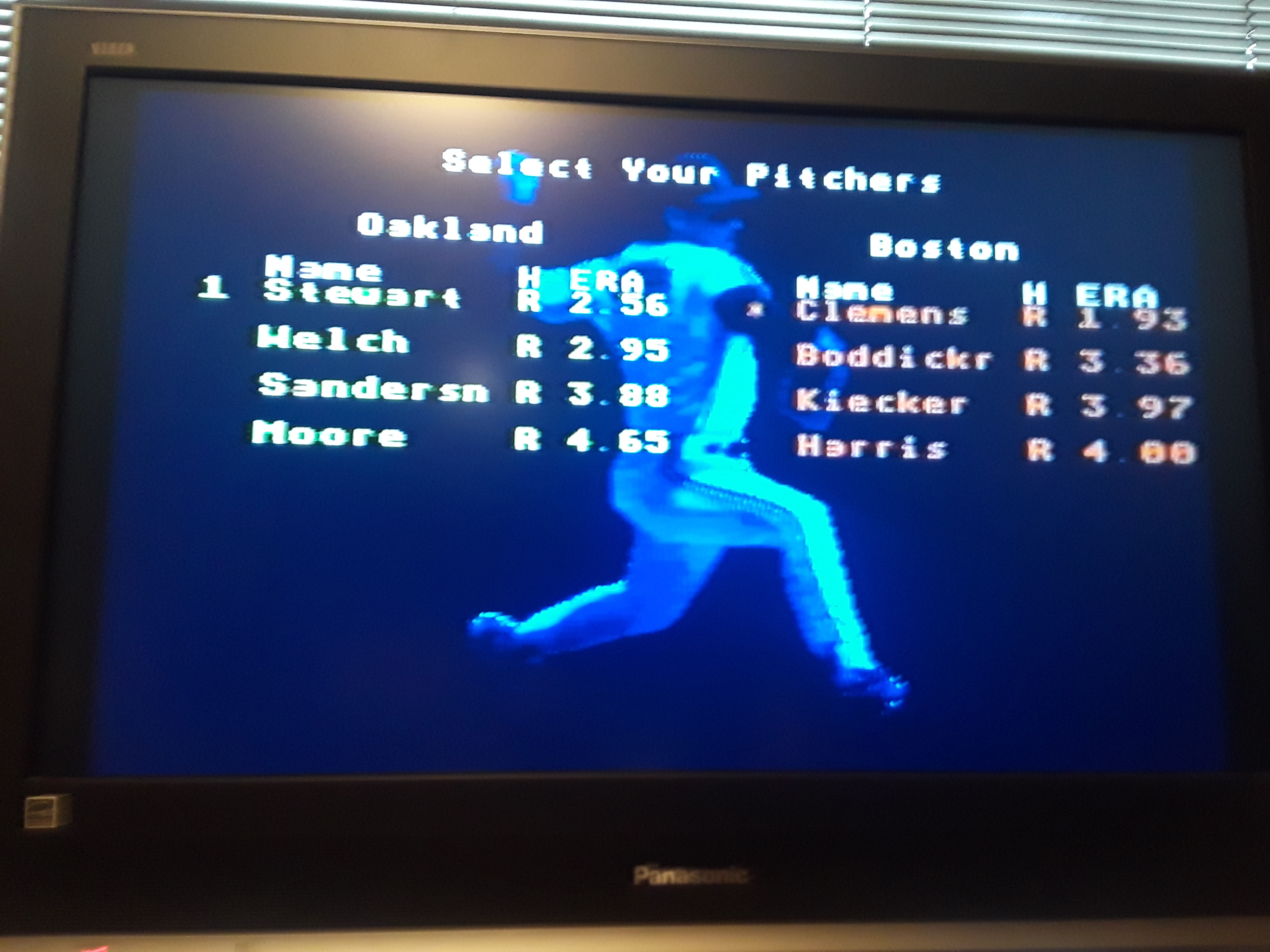 RBI Baseball 3 [Point Difference] 4 points