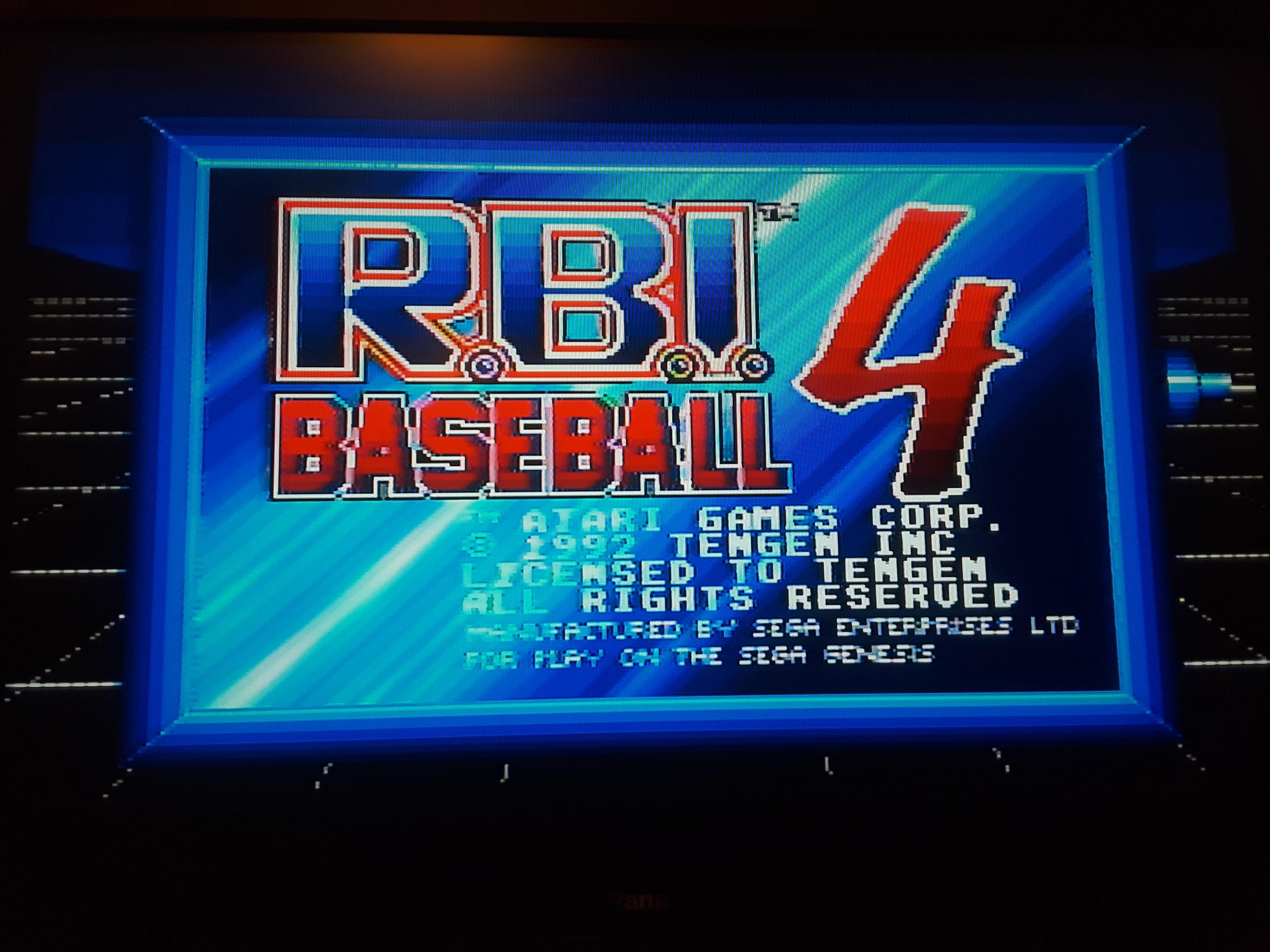 RBI Baseball 4 [Home Run Derby] [Most Home Runs] 1 points