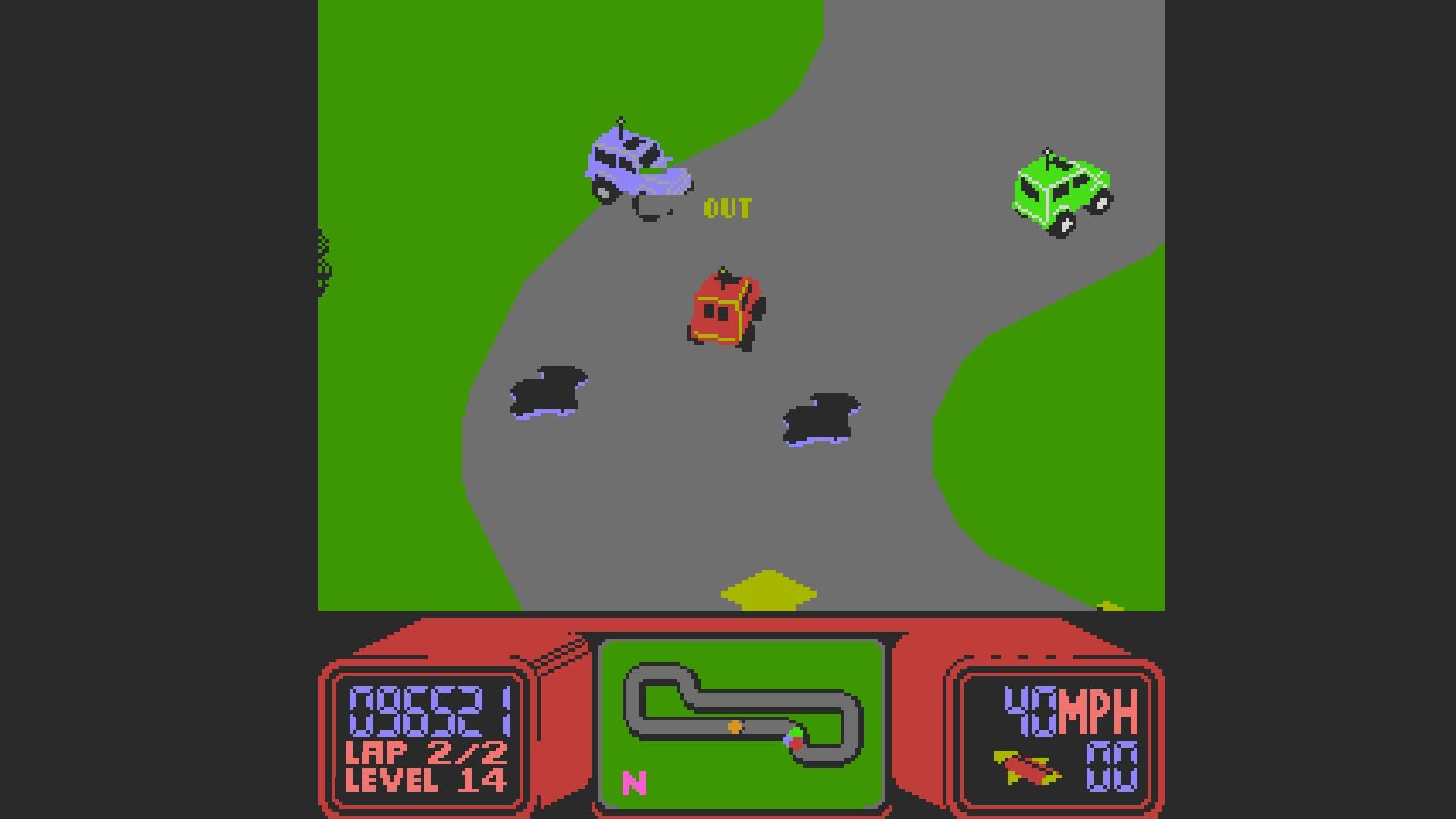 AkinNahtanoj: R.C. Pro-Am (NES/Famicom Emulated) 96,521 points on 2020-10-12 14:56:20
