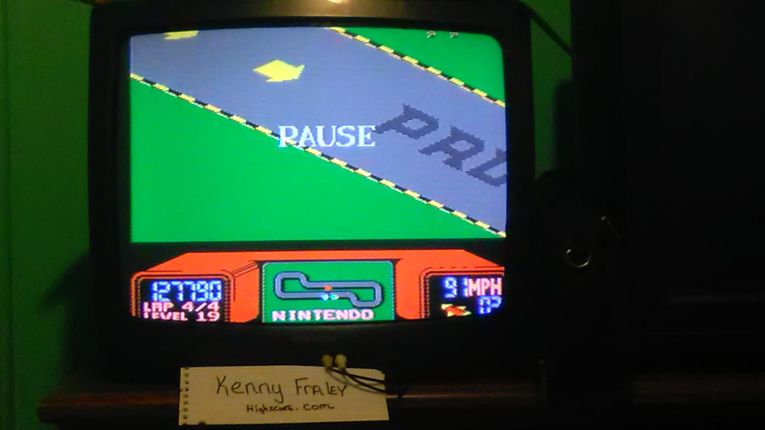 kennyfraley: R.C. Pro-Am (NES/Famicom) 127,790 points on 2017-05-04 23:32:46