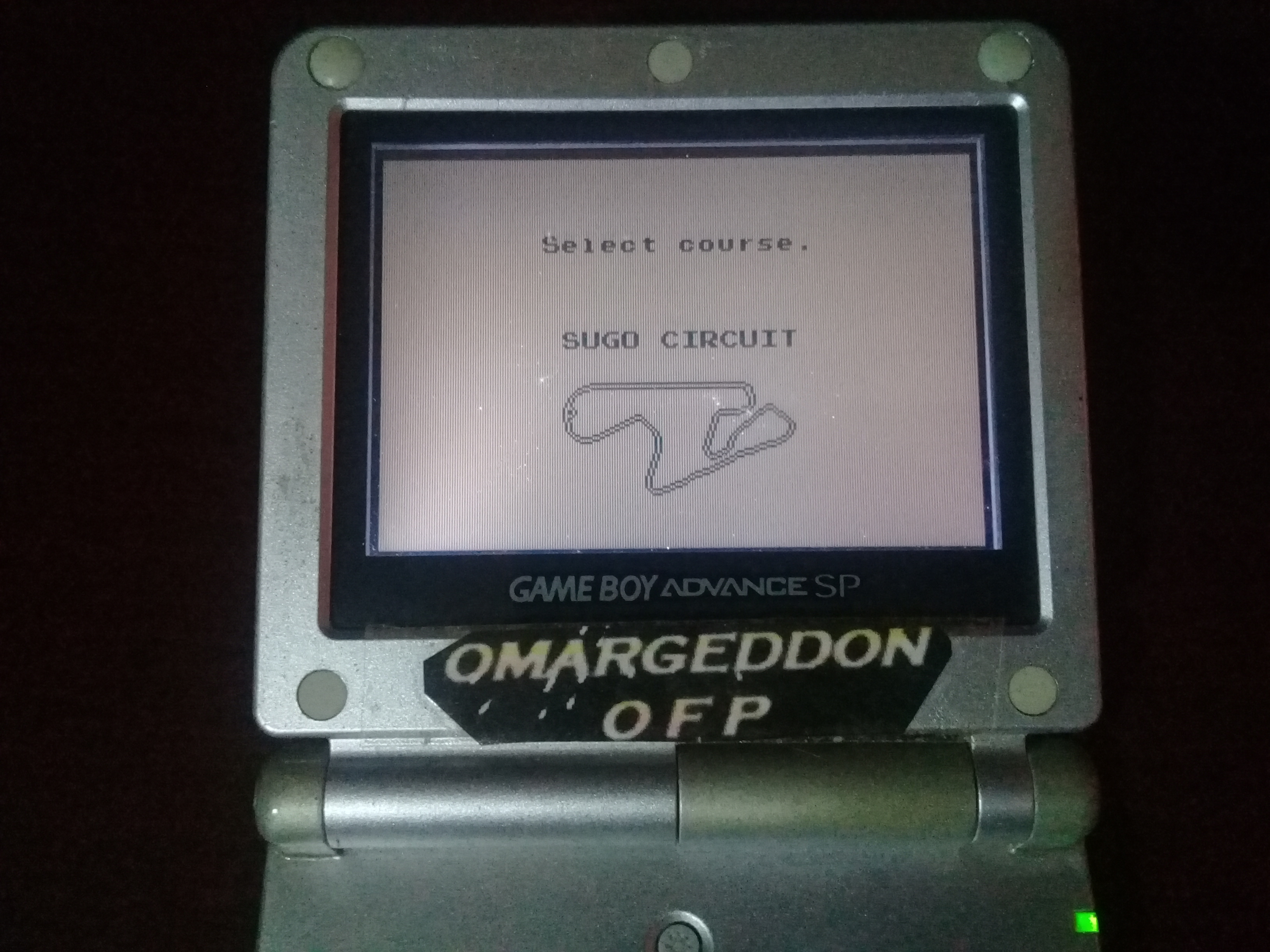 omargeddon: Racing Tamashii: Sugo Circuit [Practice] [Best Lap] (Game Boy) 0:01:18.71 points on 2020-06-07 16:21:51