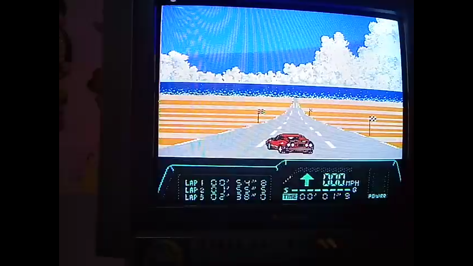 omargeddon: Rad Racer 2: Stage 1: Key West [Fastest lap] (NES/Famicom) 0:00:54.8 points on 2019-12-06 17:03:26