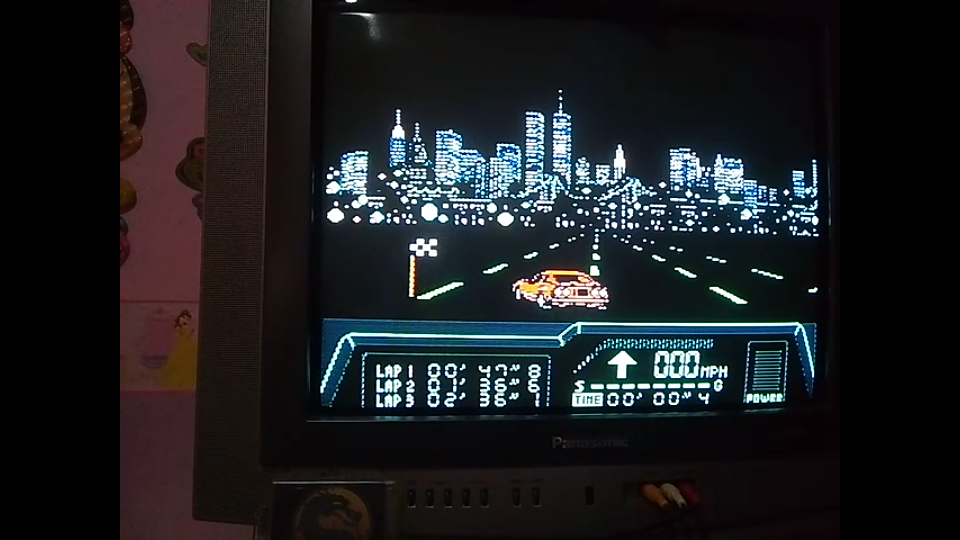omargeddon: Rad Racer 2: Stage 2: Big Apple [Fastest Lap] (NES/Famicom) 0:00:47.8 points on 2019-12-06 17:06:33