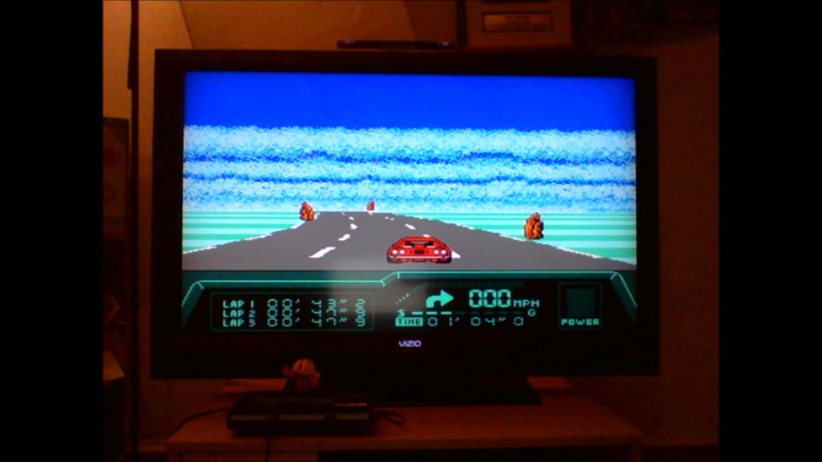 DuggerVideoGames: Rad Racer 2: Stage 3: Gettysburg [Fastest Lap] (NES/Famicom Emulated) 0:00:43.2 points on 2016-08-24 00:58:53