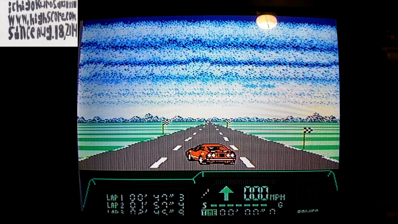 ichigokurosaki1991: Rad Racer 2: Stage 3: Gettysburg [Fastest Lap] (NES/Famicom) 0:00:47.3 points on 2017-11-14 23:46:03