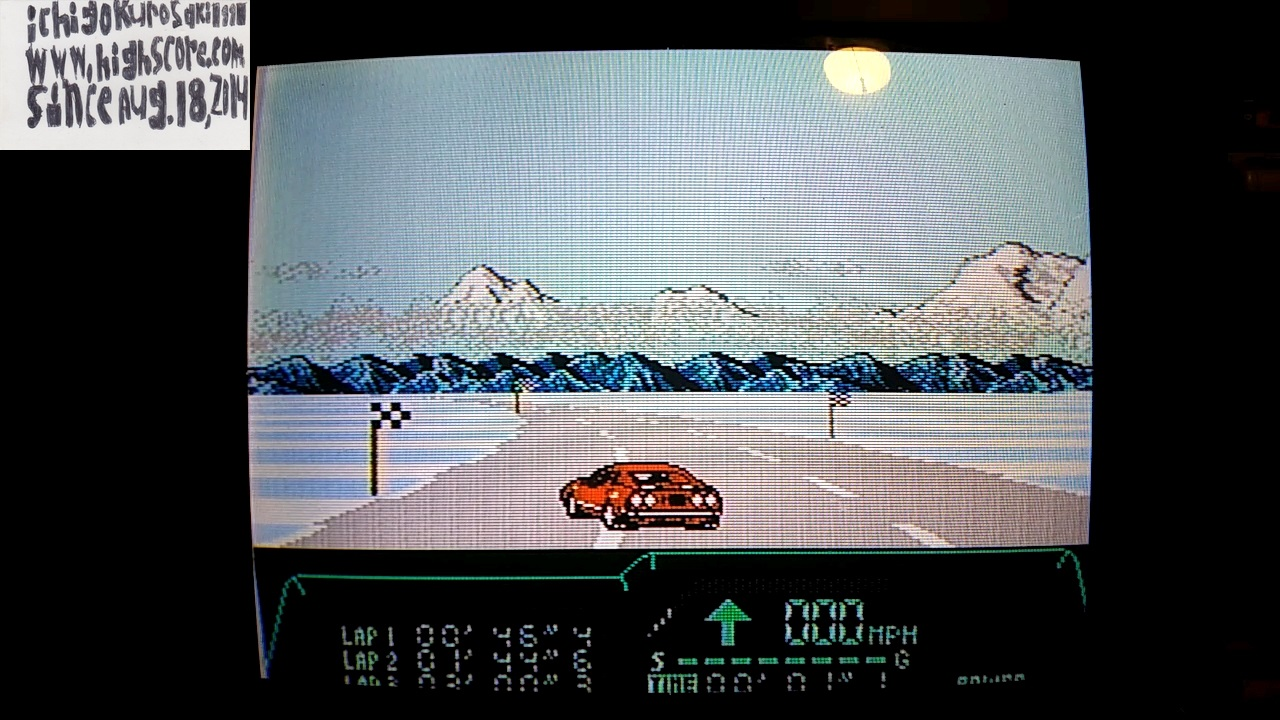 ichigokurosaki1991: Rad Racer 2: Stage 6: Rocky Mountains [Fastest Lap] (NES/Famicom) 0:00:46.4 points on 2017-11-14 23:47:42
