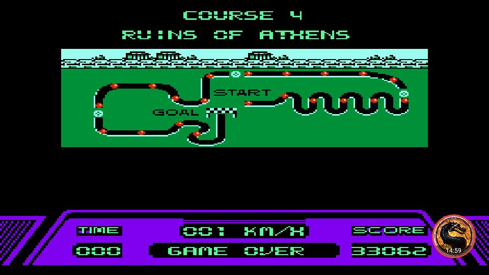omargeddon: Rad Racer (NES/Famicom Emulated) 33,062 points on 2018-12-29 21:46:13