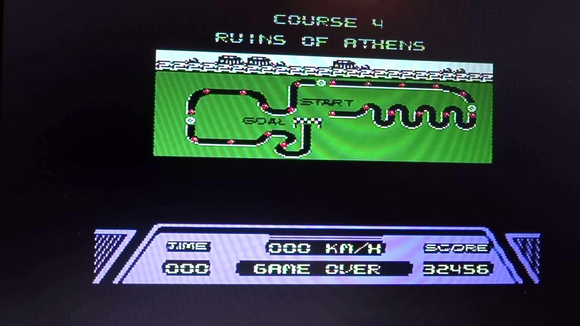 Rad Racer 32,456 points