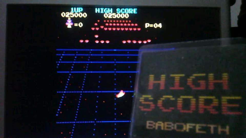 BabofetH: Radar Scope [radarscp] (Arcade Emulated / M.A.M.E.) 25,000 points on 2020-06-21 03:50:28