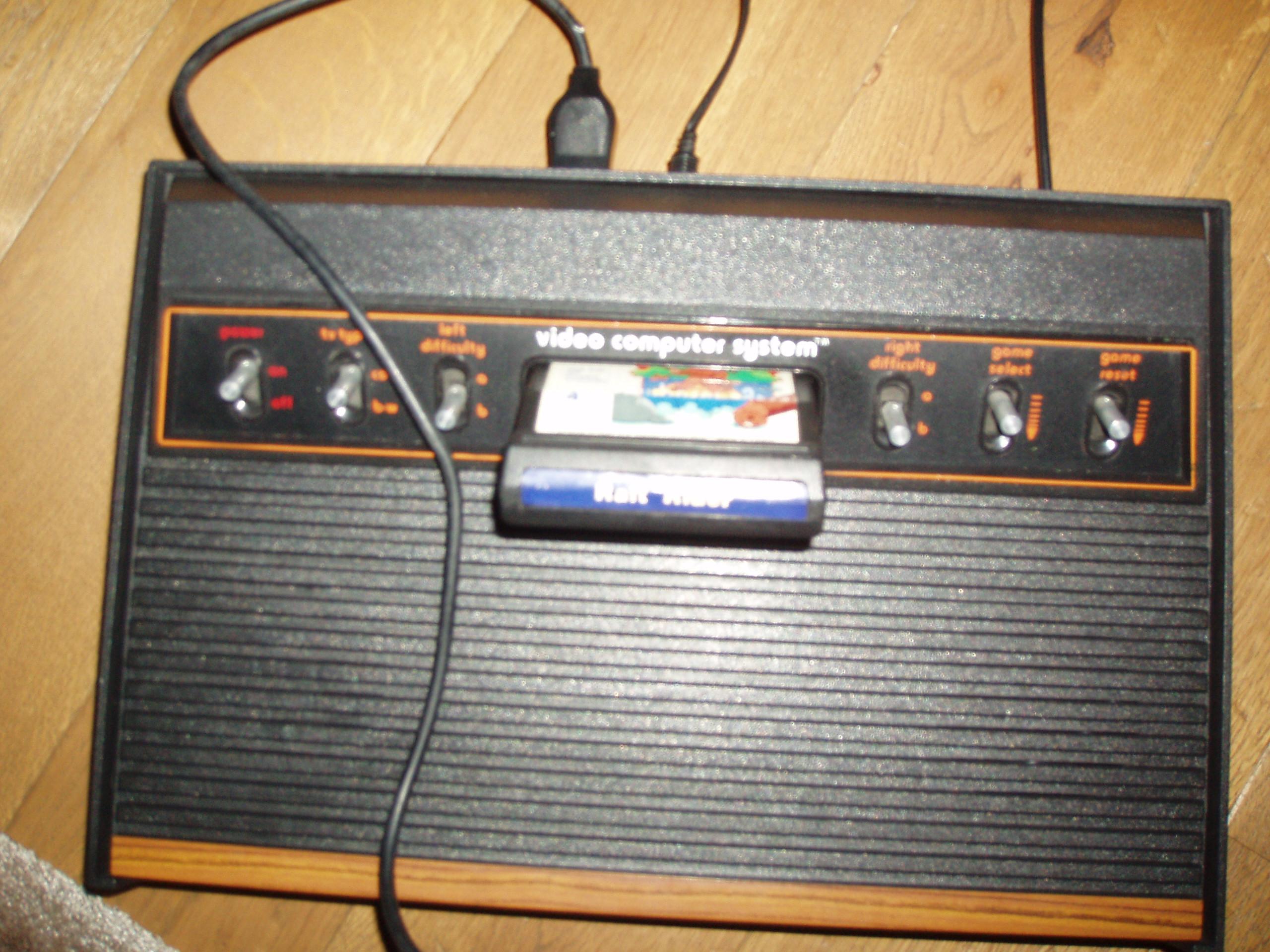 atari2600forever: Raft Rider (Atari 2600 Novice/B) 7,019 points on 2018-10-25 03:14:22