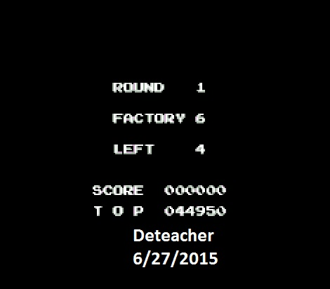 Deteacher: Raid On Bungeling Bay: Game A (NES/Famicom Emulated) 44,950 points on 2015-06-27 21:37:42