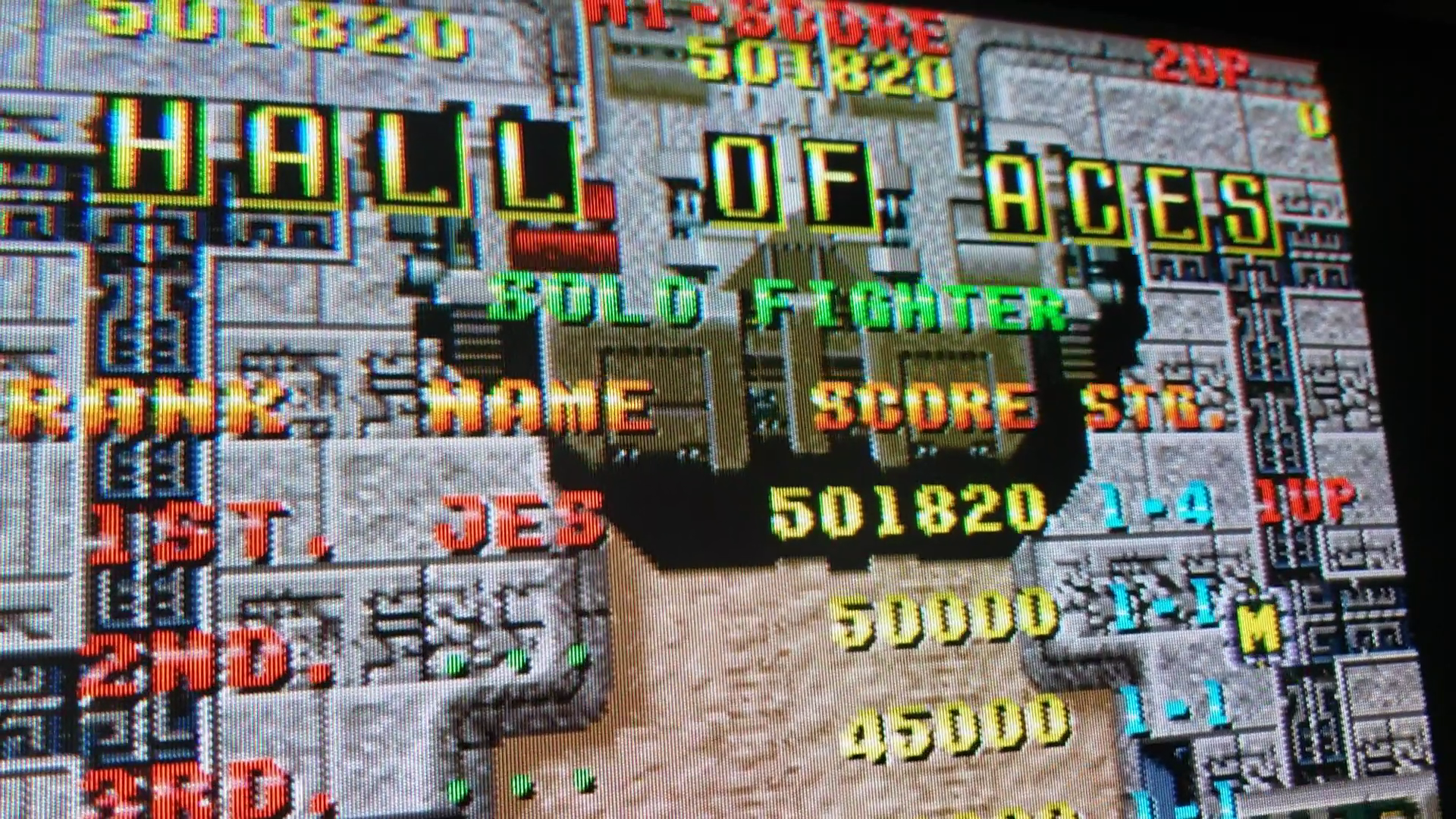 JES: Raiden (Arcade Emulated / M.A.M.E.) 501,820 points on 2020-09-11 18:31:21