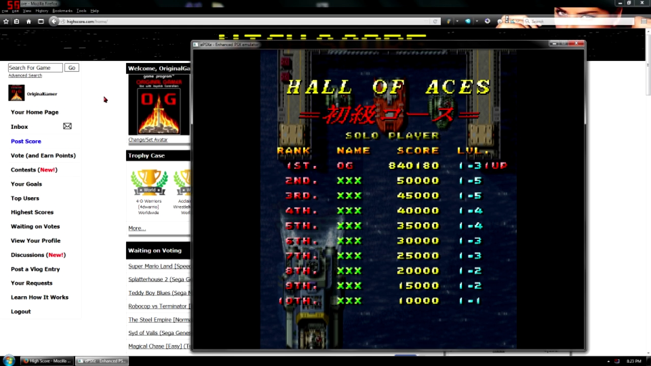 OriginalGamer: Raiden DX [Normal Difficulty/Novice Course] (Playstation 1 Emulated) 840,180 points on 2015-11-13 01:51:14
