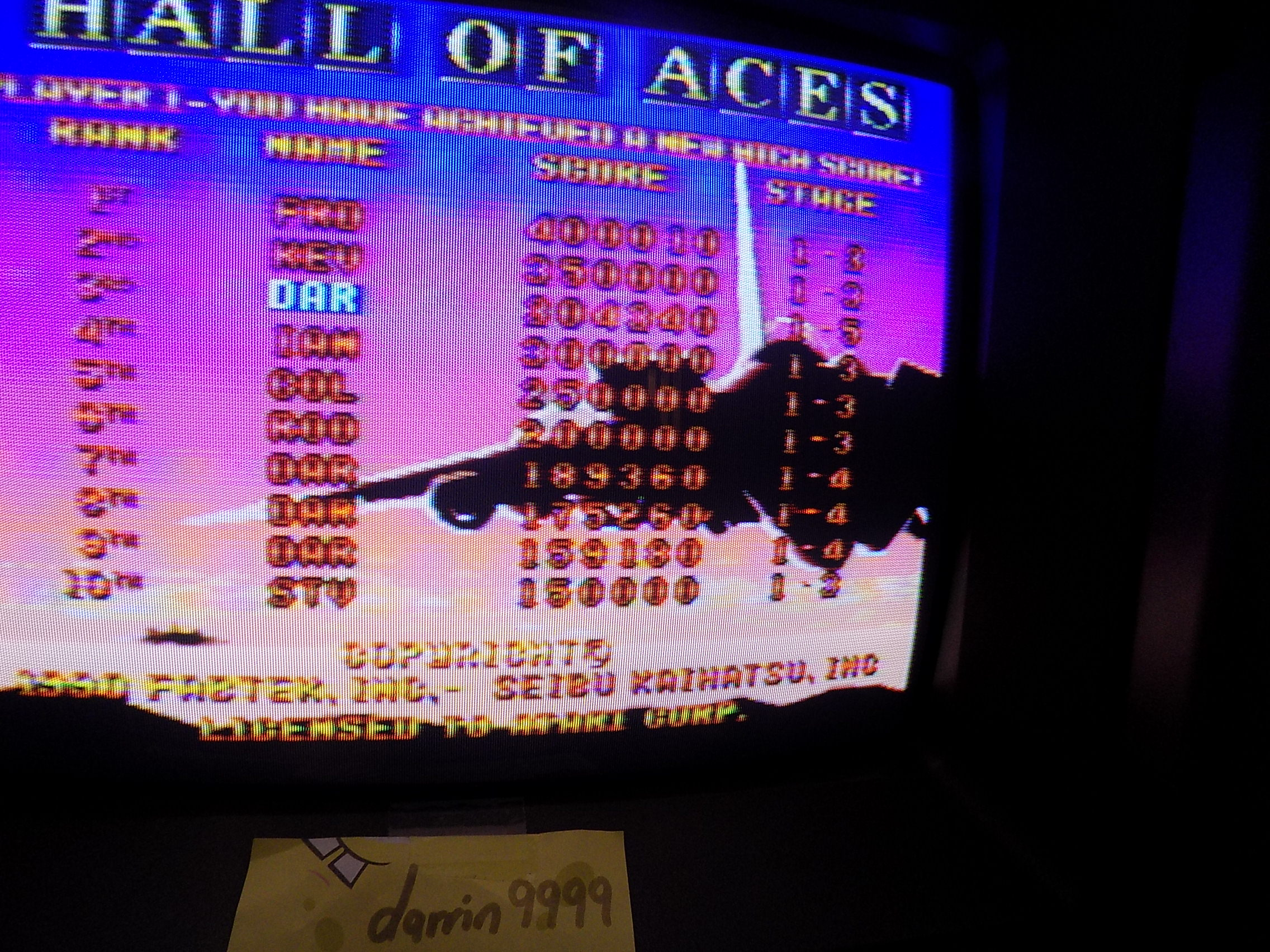 darrin9999: Raiden: Eight Credits (Atari Jaguar) 304,340 points on 2017-10-24 12:14:42