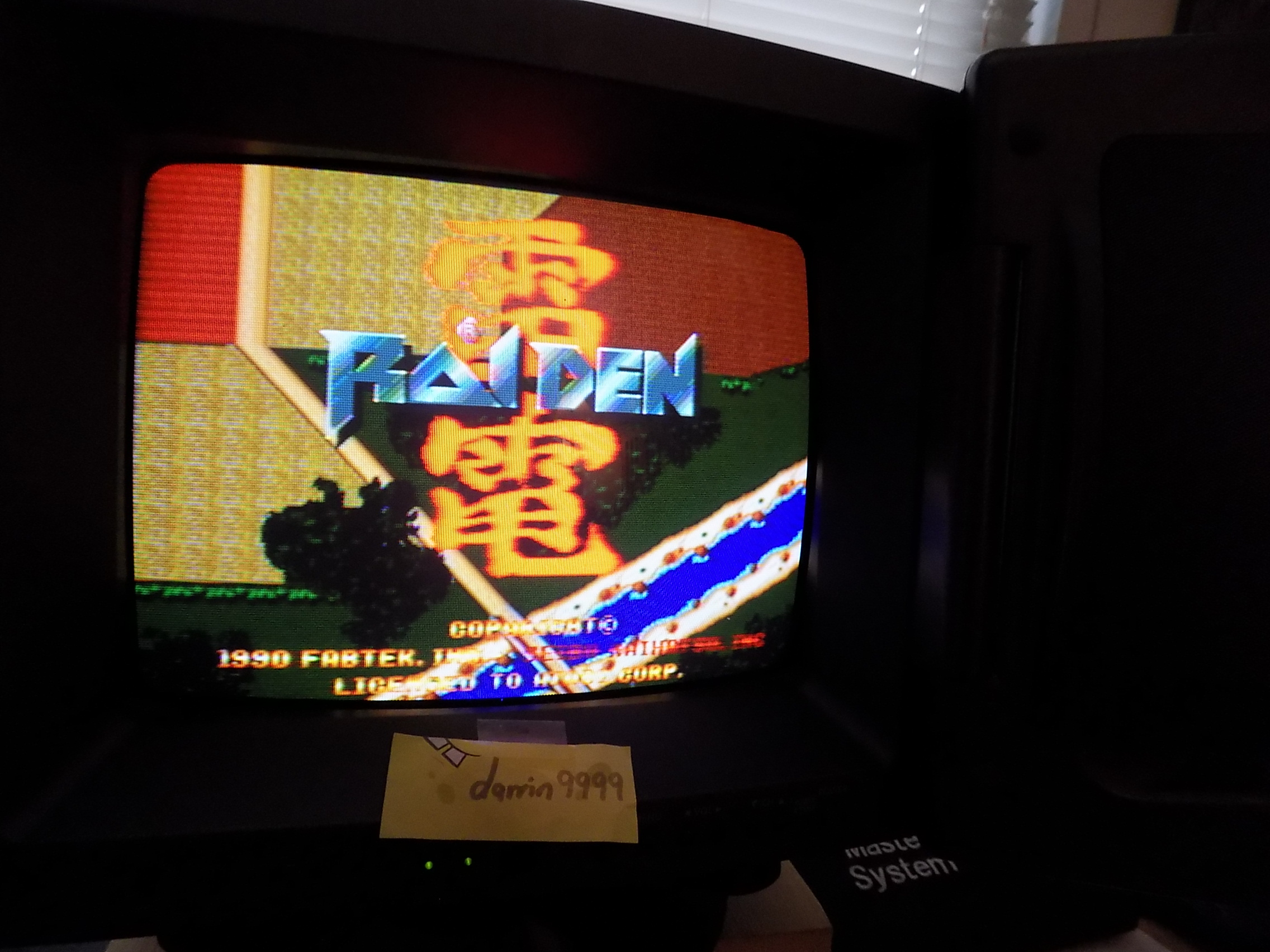 darrin9999: Raiden: Eight Credits (Atari Jaguar) 458,570 points on 2018-10-08 18:21:02