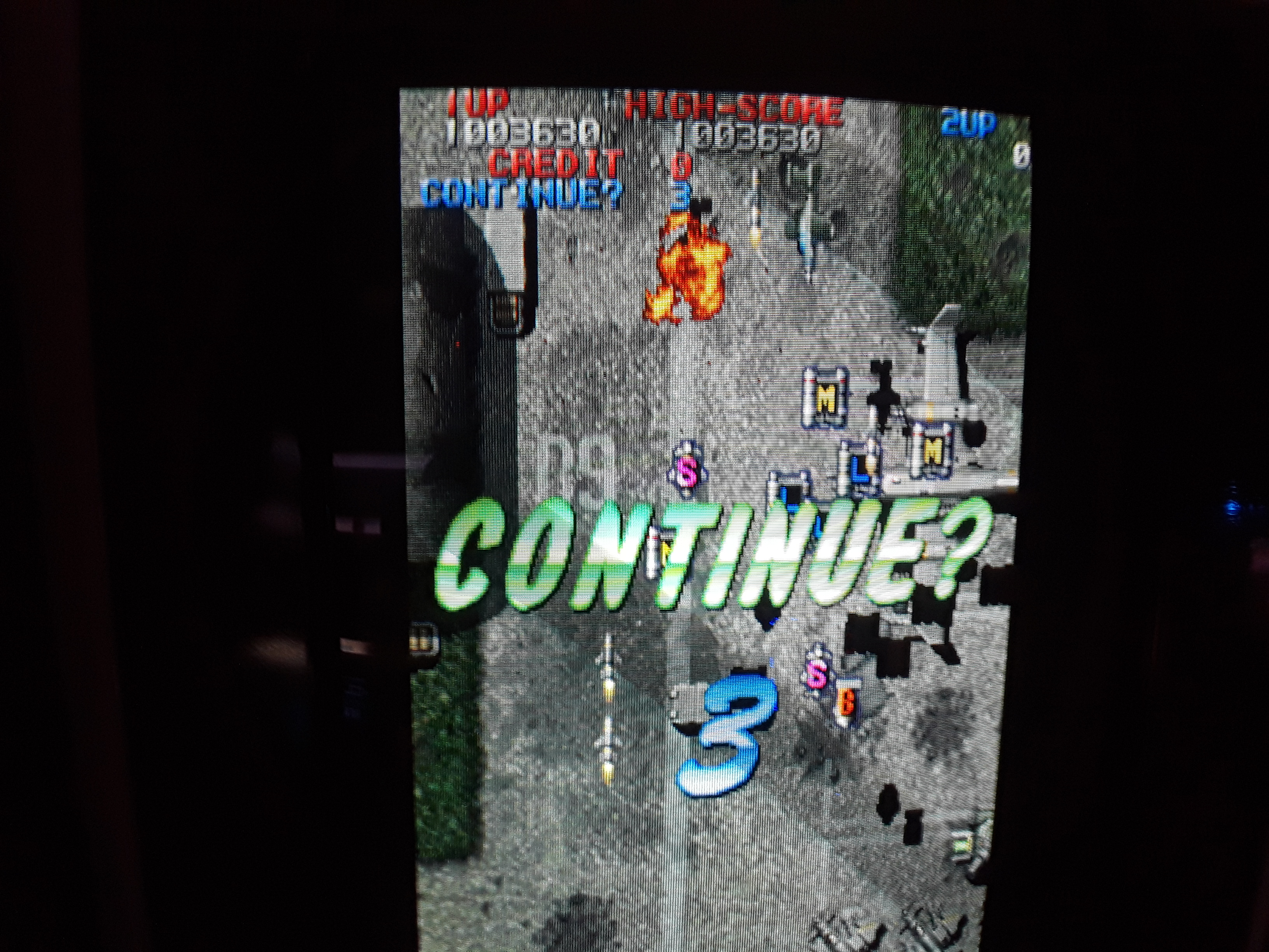 Raiden Fighters 2 1,003,630 points
