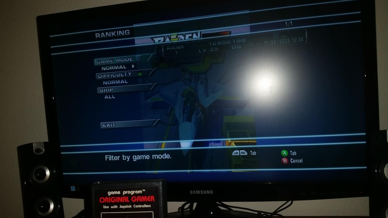 OriginalGamer: Raiden Fighters Aces: Raiden Fighters Jet (Xbox 360) 12,852,188 points on 2016-07-13 17:18:58