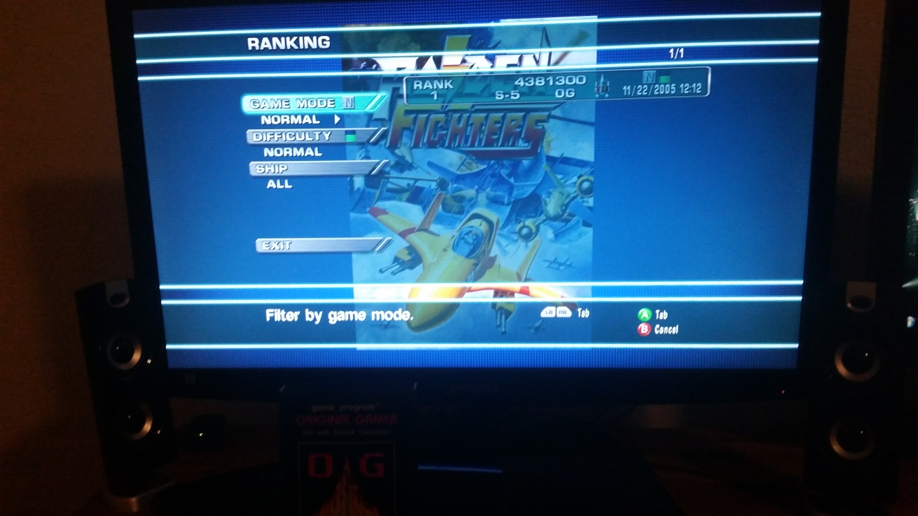 OriginalGamer: Raiden Fighters Aces: Raiden Fighters (Xbox 360) 4,381,300 points on 2016-07-13 17:16:55