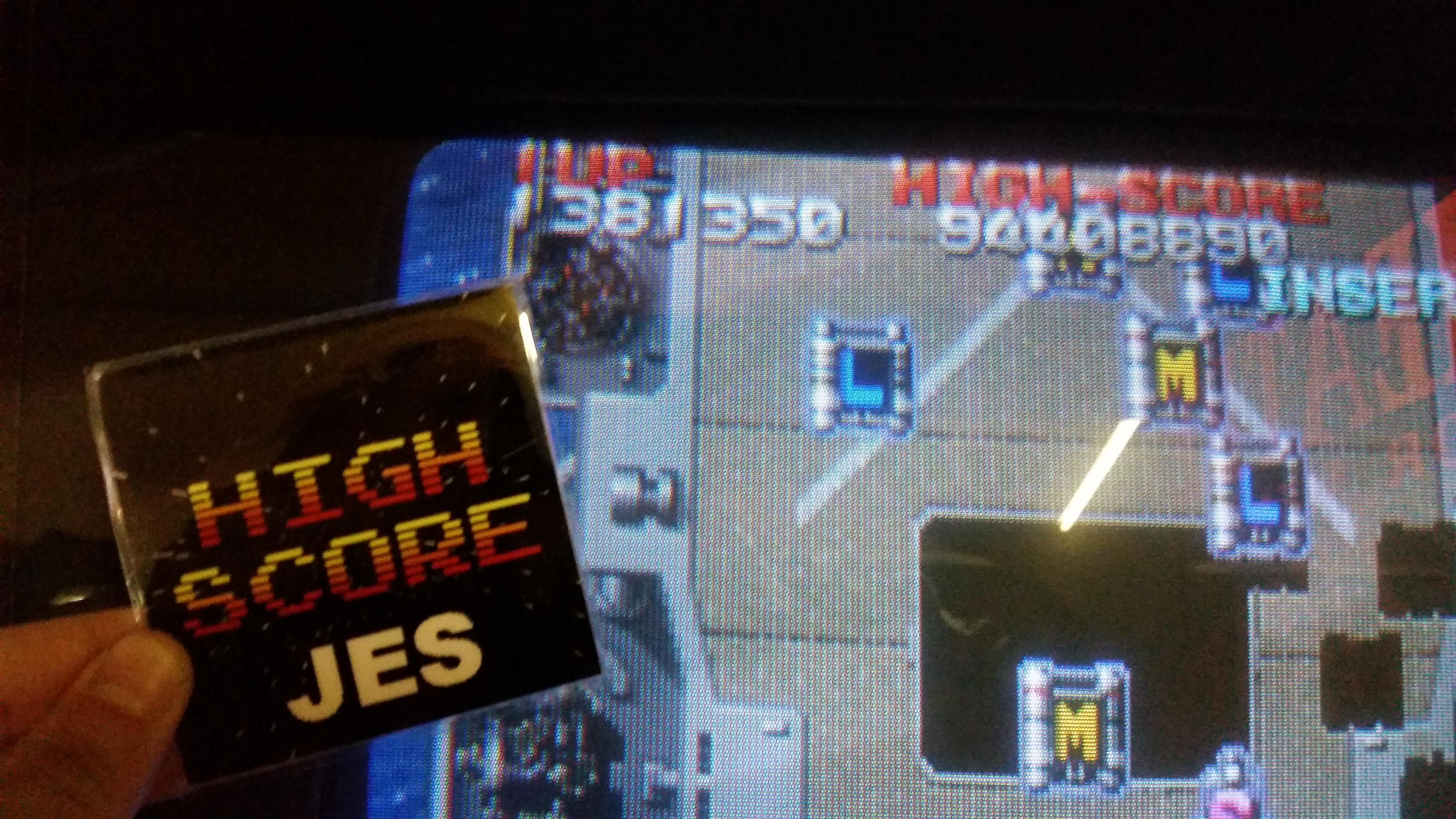 JES: Raiden Fighters (Arcade) 1,381,350 points on 2017-05-05 01:55:25