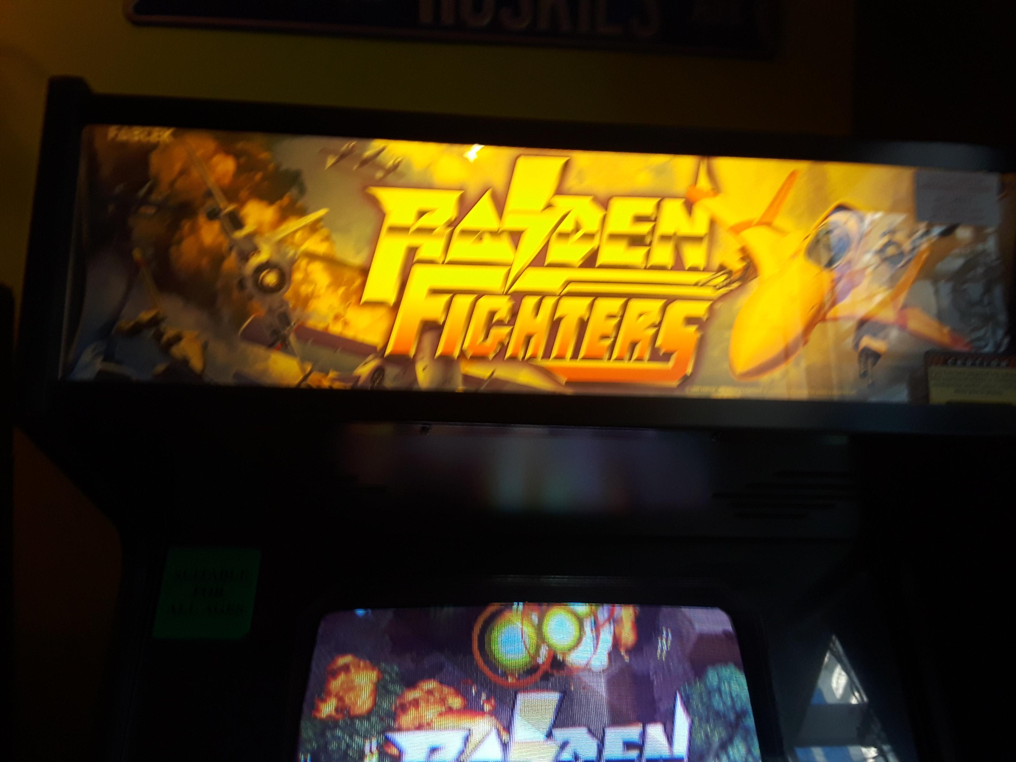 Raiden Fighters 209,310 points