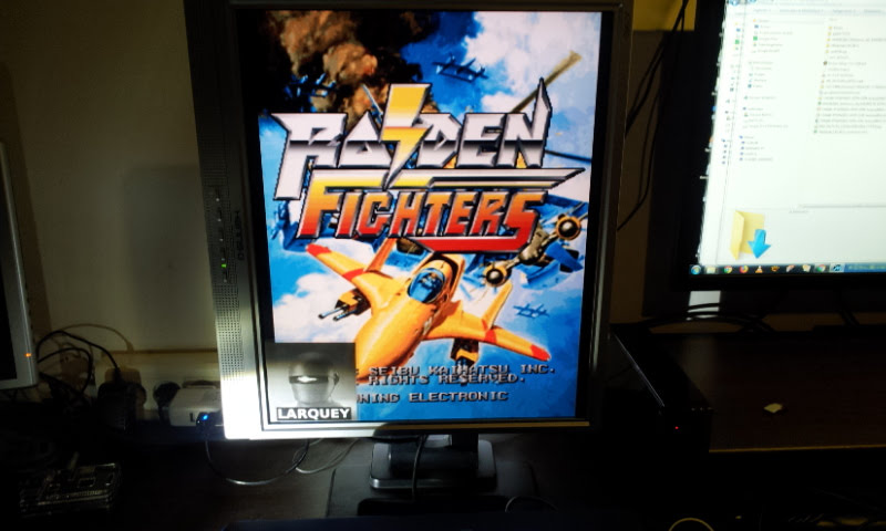 Larquey: Raiden Fighters [rdft] (Arcade Emulated / M.A.M.E.) 1,517,110 points on 2018-01-07 11:14:13