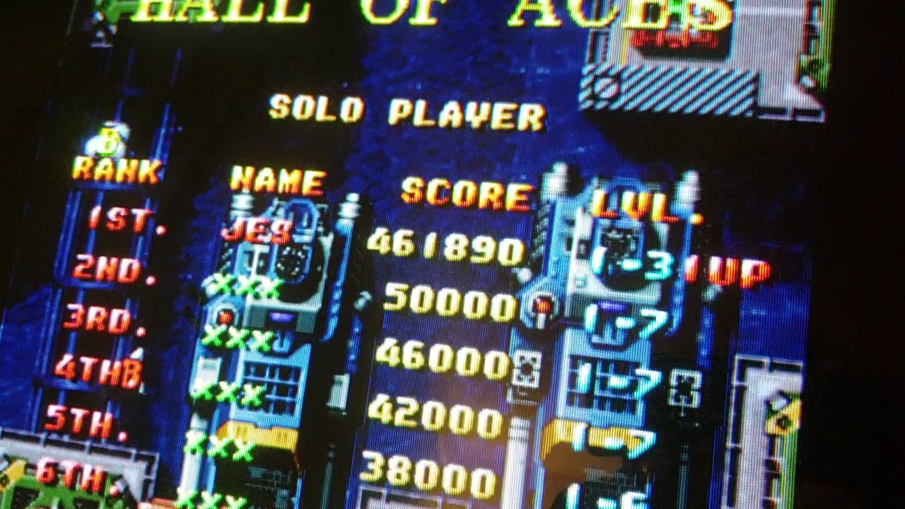 JES: Raiden II [4 Lives] [raiden2] (Arcade Emulated / M.A.M.E.) 461,890 points on 2019-02-02 04:31:18
