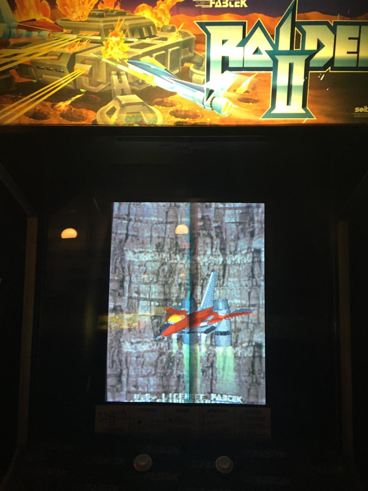 ILLSeaBass: Raiden II (Arcade) 54,400 points on 2016-11-23 00:03:20