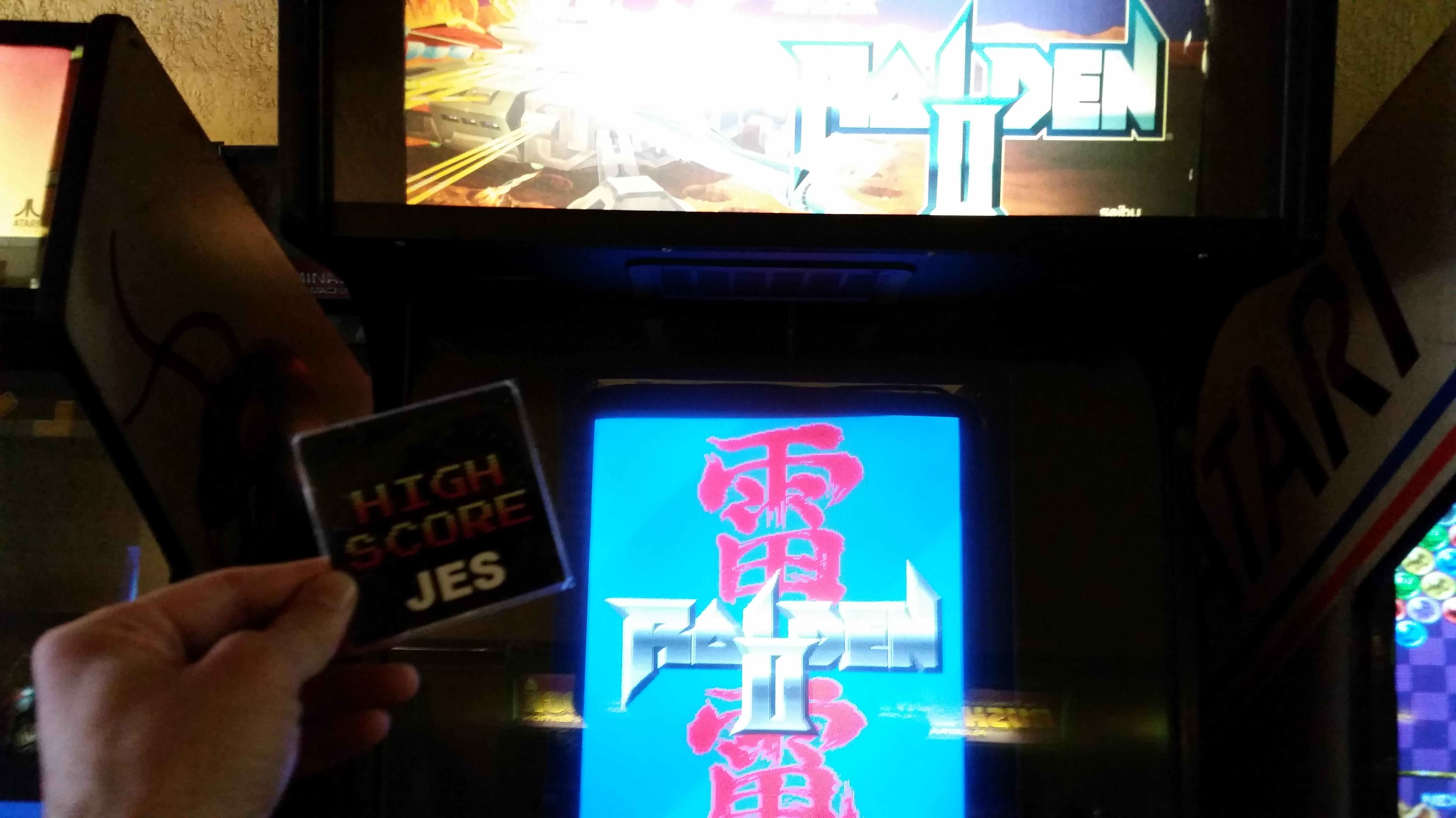 JES: Raiden II (Arcade) 366,710 points on 2017-05-05 01:58:37