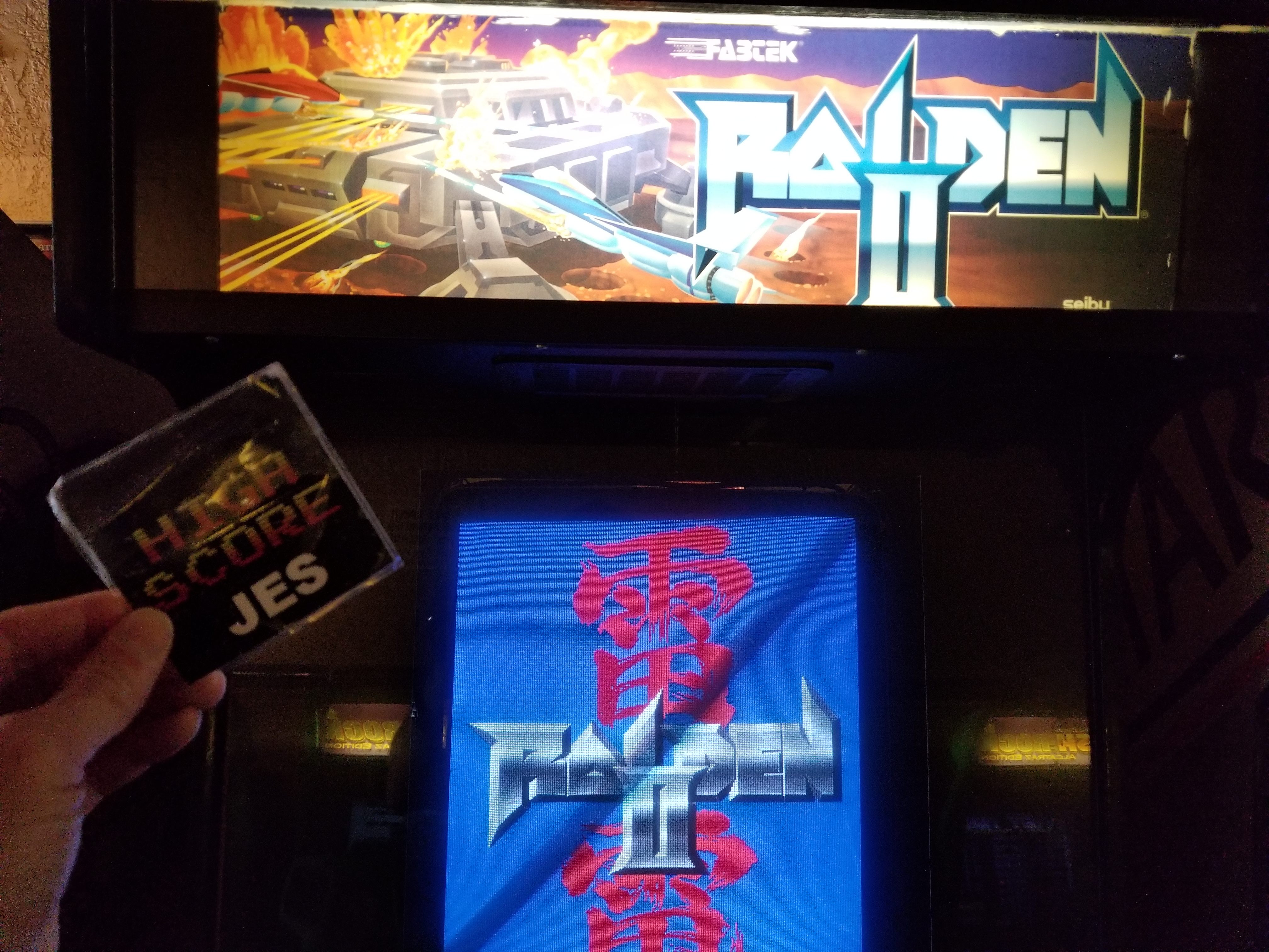 JES: Raiden II (Arcade) 430,990 points on 2018-05-05 18:25:50