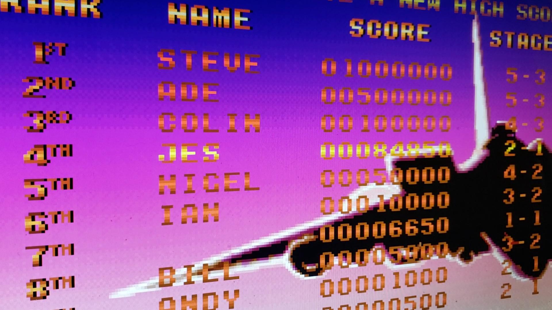 JES: Raiden (PC Emulated / DOSBox) 84,850 points on 2020-09-10 12:02:55