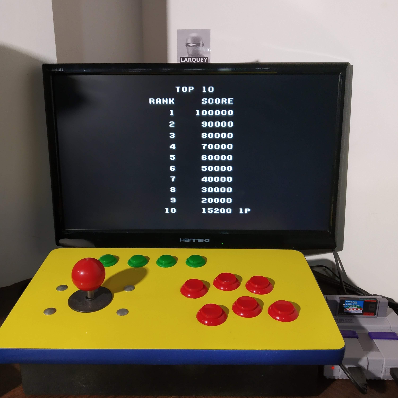 Larquey: Raiden Trad [Hero 3/Bomber 3/Hard/Rapid Fire On] (SNES/Super Famicom Emulated) 15,200 points on 2020-08-20 11:40:33