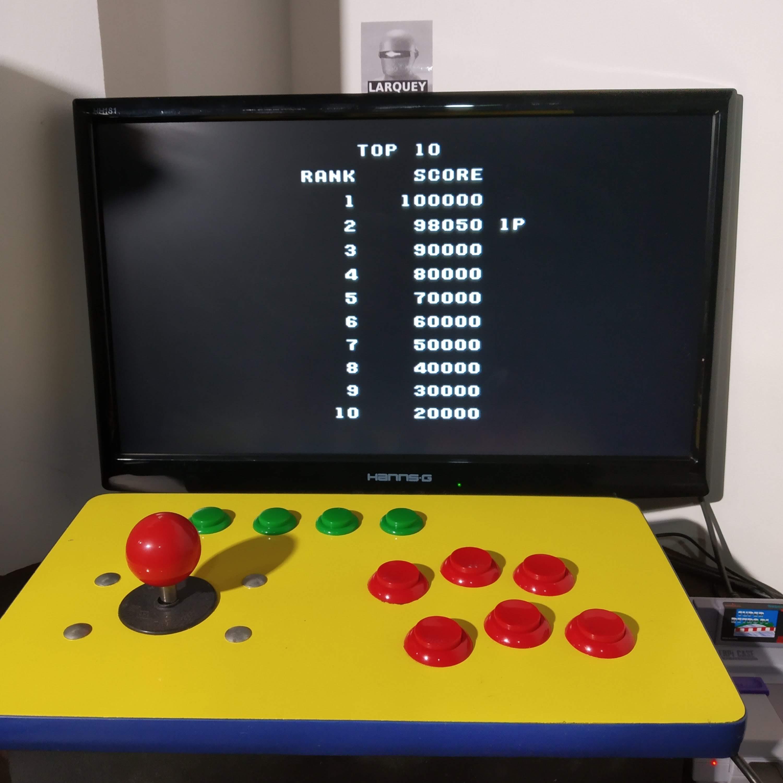 Larquey: Raiden Trad [Hero 3/Bomber 3/Pro/Rapid Fire On] (SNES/Super Famicom Emulated) 98,050 points on 2020-08-20 11:42:50