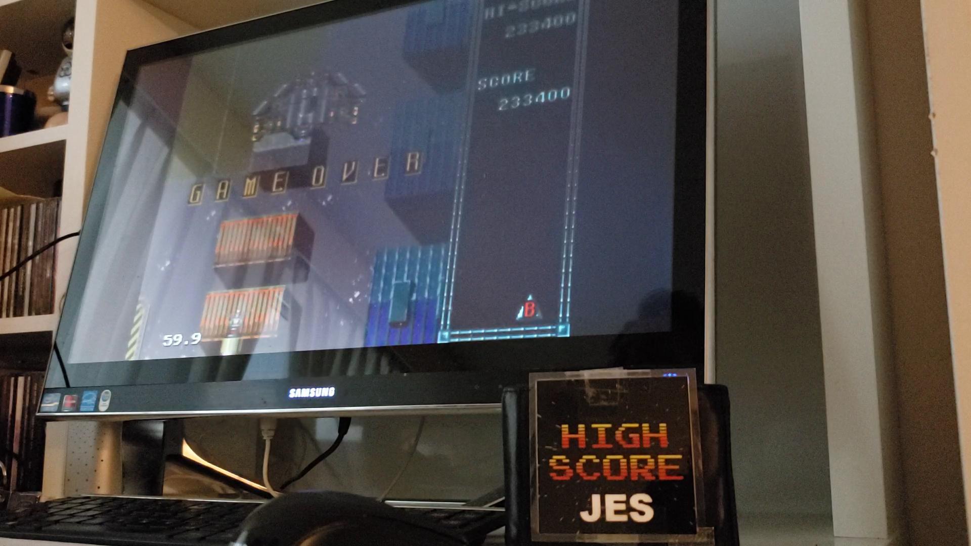 JES: Raiden Trad [Normal] (Sega Genesis / MegaDrive Emulated) 233,400 points on 2020-09-24 17:00:33