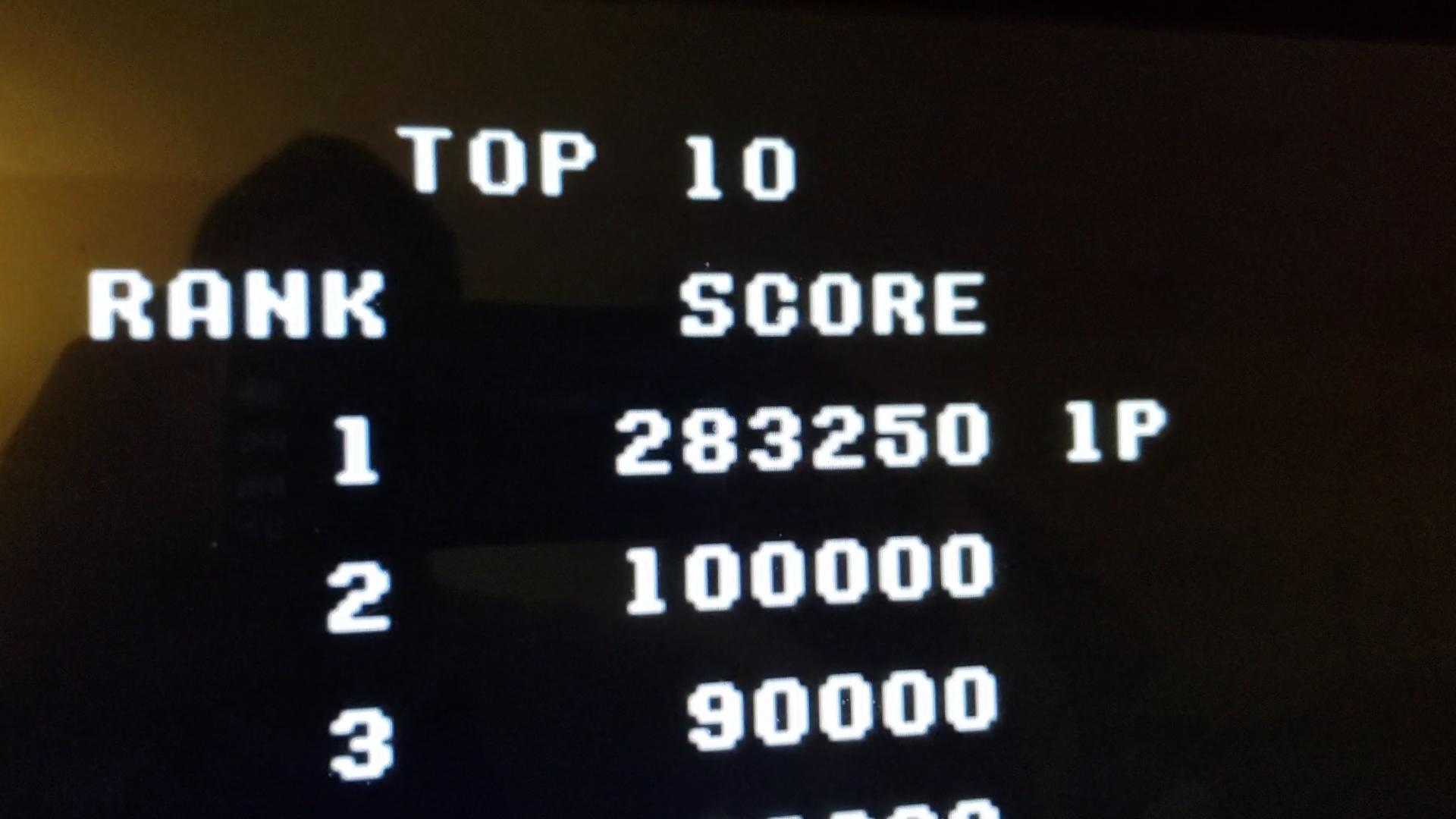 JES: Raiden Trad (SNES/Super Famicom Emulated) 283,250 points on 2020-08-21 16:10:32