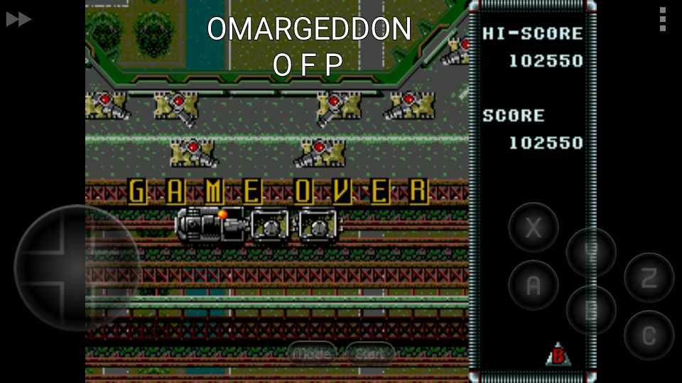 omargeddon: Raiden Trad (Sega Genesis / MegaDrive Emulated) 102,550 points on 2016-12-05 16:19:10
