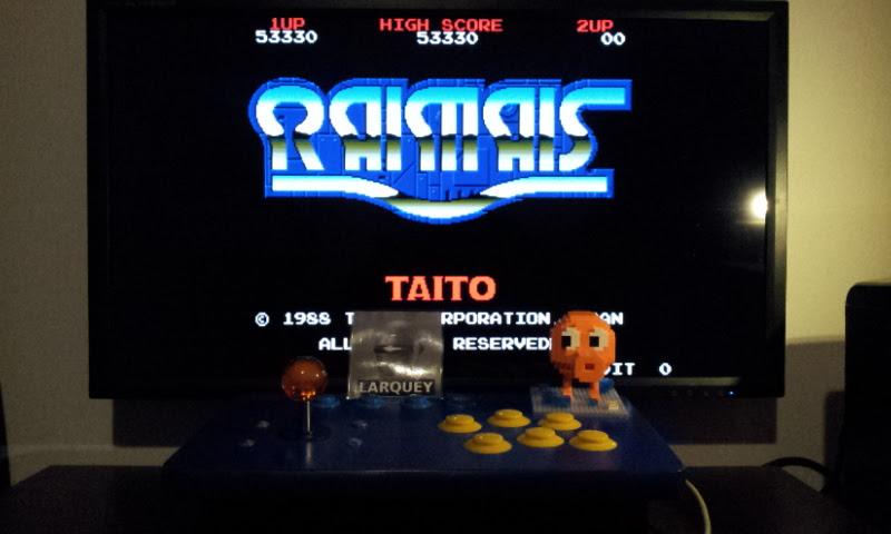 Larquey: Raimais [World] [raimais] (Arcade Emulated / M.A.M.E.) 53,330 points on 2017-02-06 12:14:26