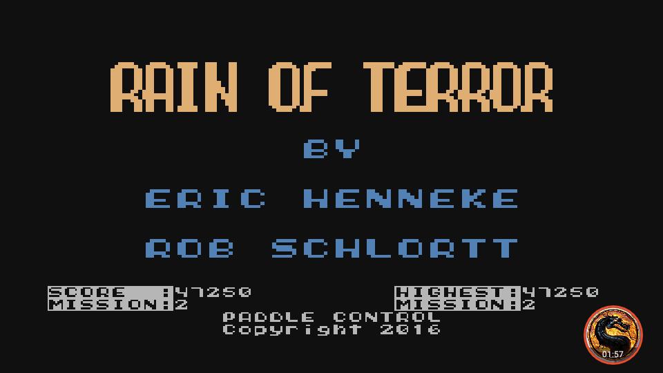 omargeddon: Rain of Terror (Atari 400/800/XL/XE Emulated) 47,250 points on 2019-06-25 00:01:11