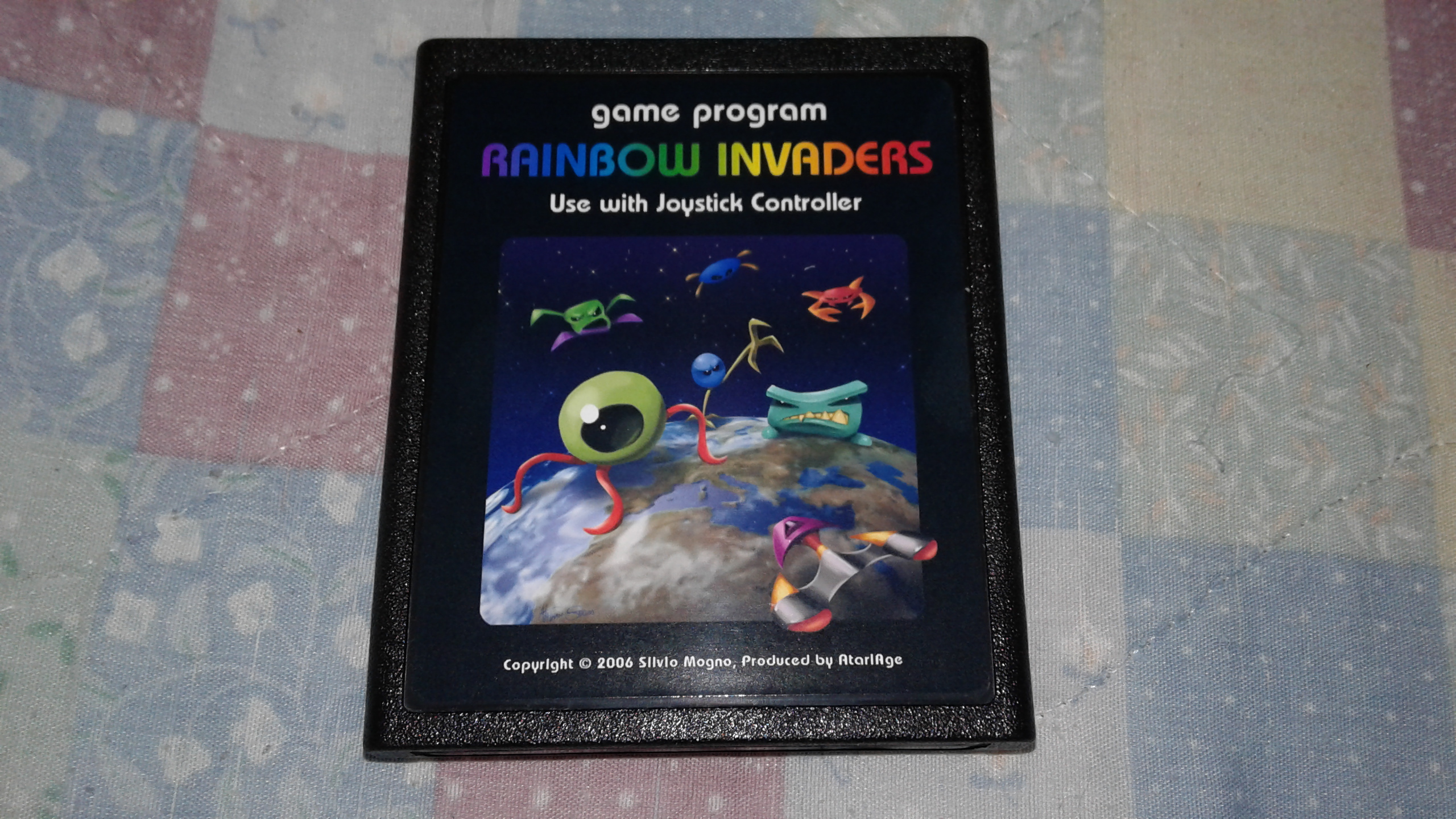 Mark: Rainbow Invaders (Atari 2600 Novice/B) 15,250 points on 2019-03-30 03:30:26