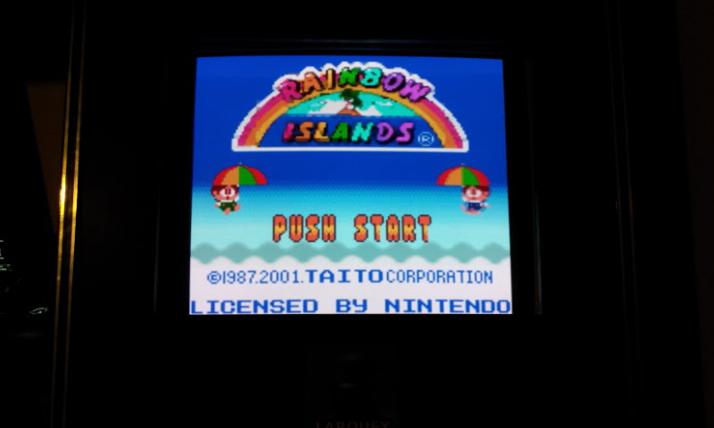 Larquey: Rainbow Islands (Game Boy Color Emulated) 944,200 points on 2018-01-20 10:52:42