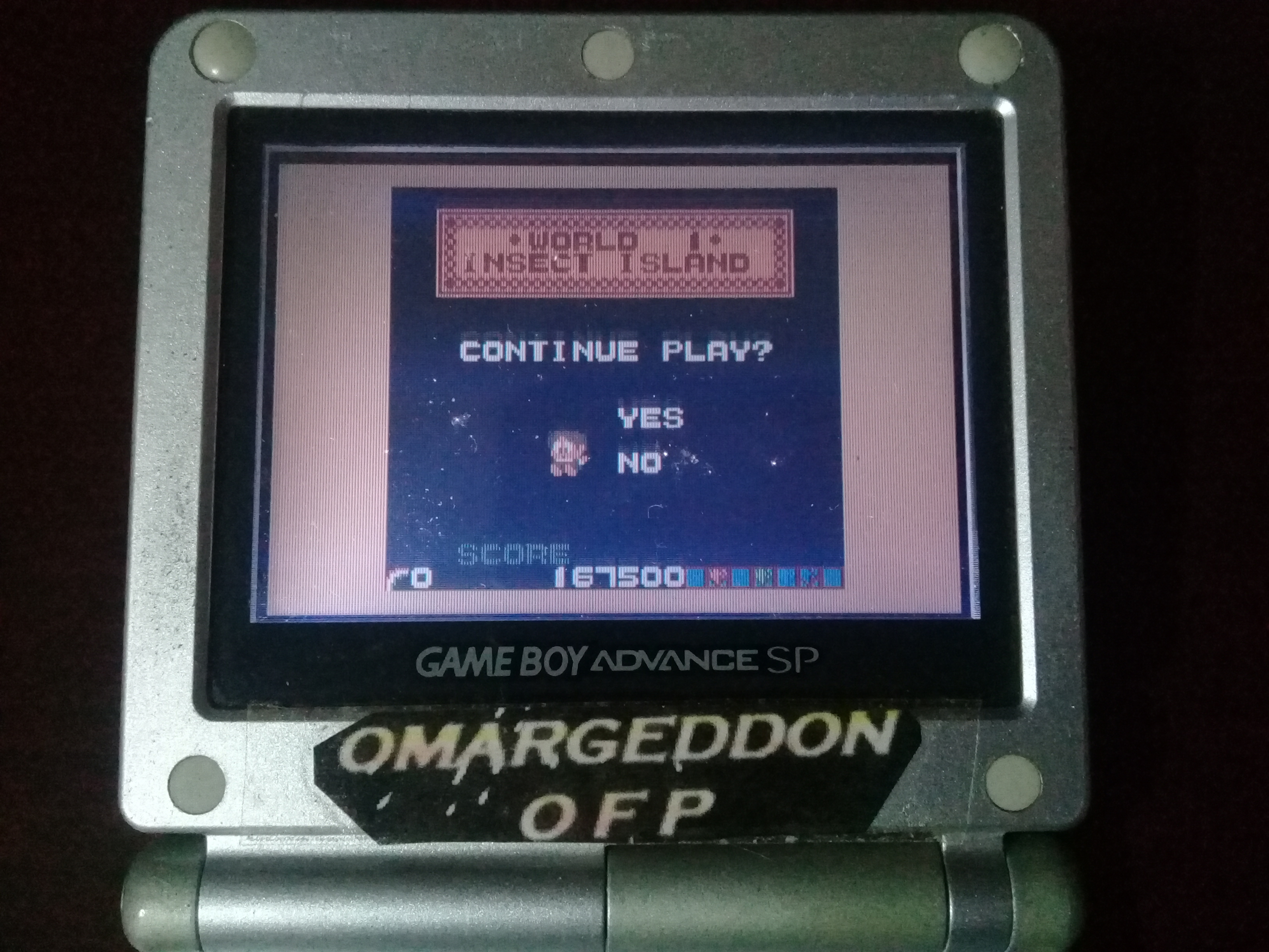 omargeddon: Rainbow Islands (Game Boy Color) 167,500 points on 2019-05-24 11:22:28