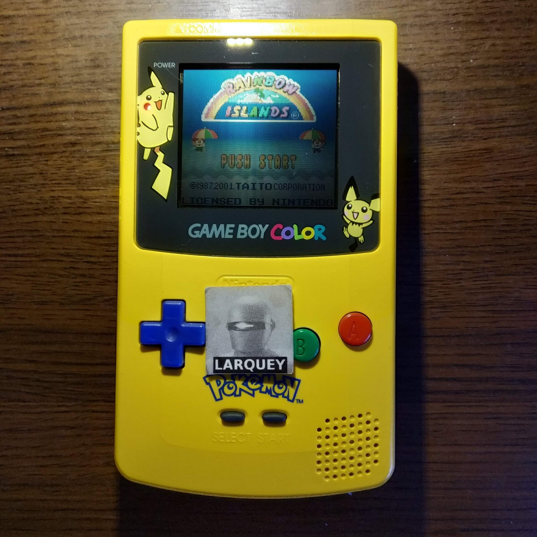 Larquey: Rainbow Islands (Game Boy Color) 251,600 points on 2020-07-13 05:09:57