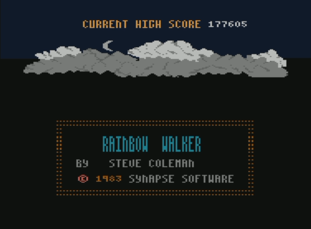 Dumple: Rainbow Walker (Atari 400/800/XL/XE Emulated) 177,605 points on 2016-07-09 12:28:49