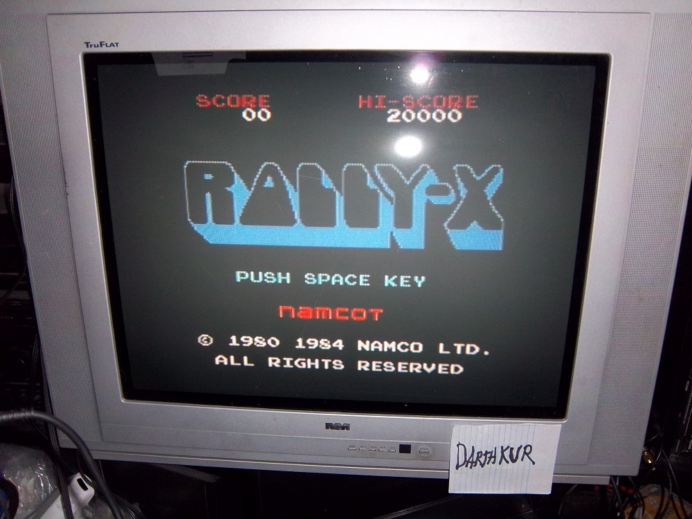 Rally-X 149,270 points