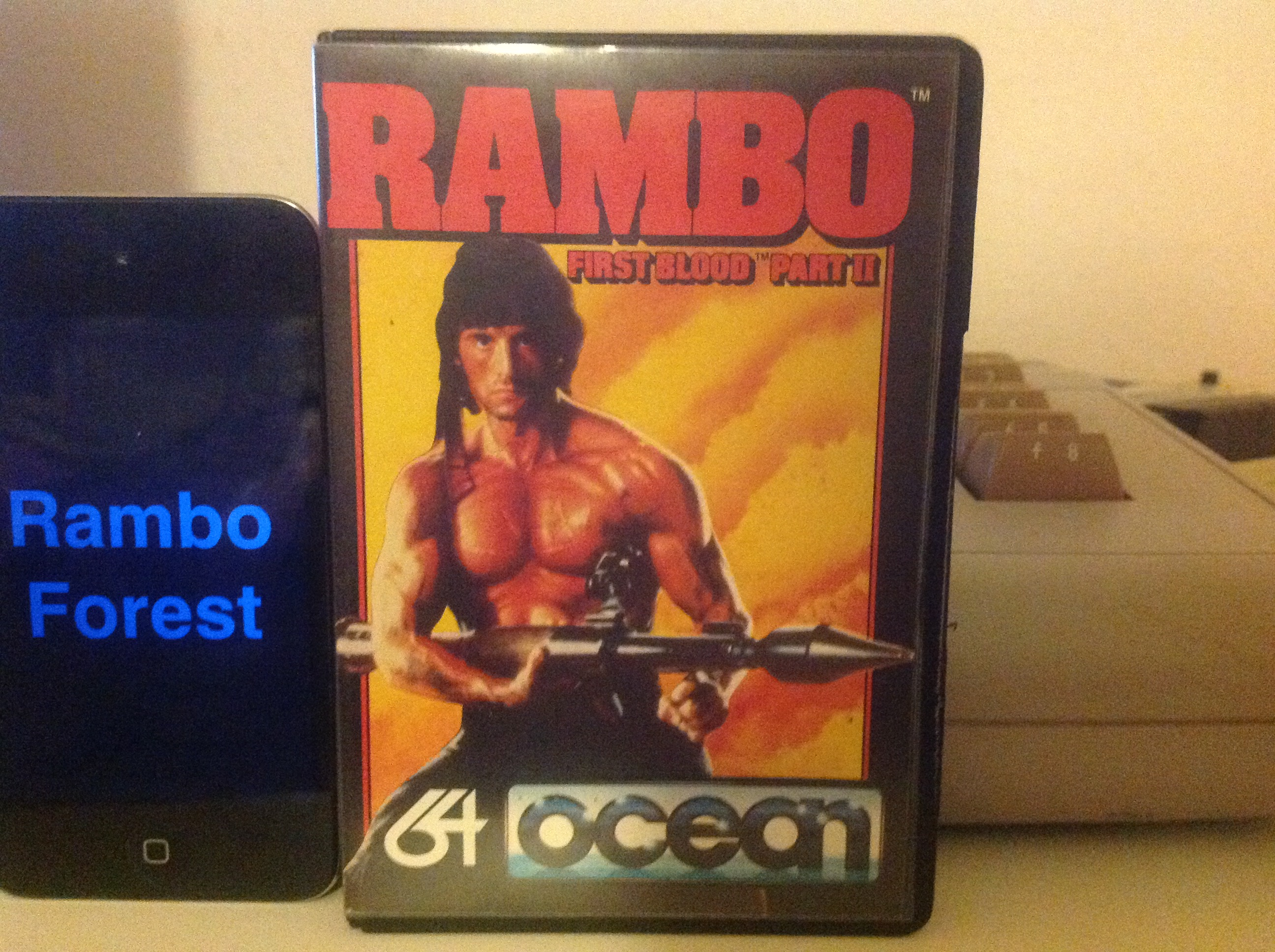 CoCoForest: Rambo: First Blood Part II (Commodore 64) 41,100 points on 2015-12-18 13:45:48