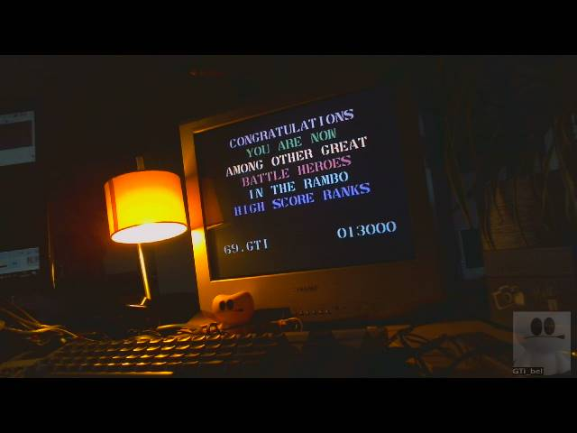 GTibel: Rambo: First Blood Part II (Commodore 64) 13,000 points on 2019-03-15 11:42:42