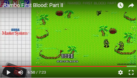 mechafatnick: Rambo First Blood Part II (Sega Master System) 36,400 points on 2016-04-23 08:52:07